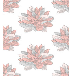 Colorful seamless pattern with drawn vector