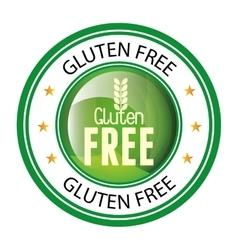 Gluten free design vector