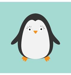 Penguin Cute cartoon character Arctic animal vector