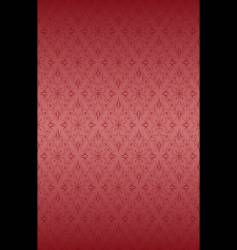 Rose ornate pattern vector