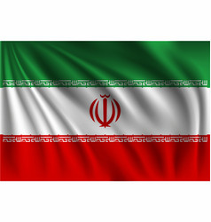Waving iran vector