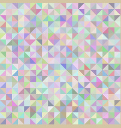 abstract background of triangles pastel vector image