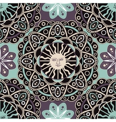 Abstract ornamental seamless pattern vector image vector image