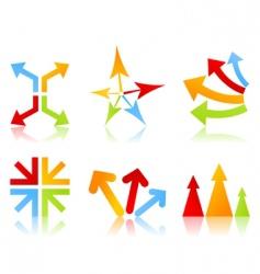 arrow icon5 vector image