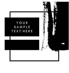 black and white template background for vector image