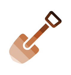 camping shovel icon vector image