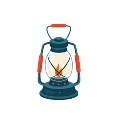 Cerosene Glass Lamp vector image