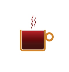 coffee color vector image