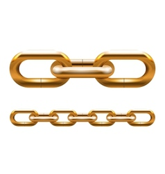 Golden chain vector