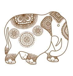 Hand-drawn Elephant vector