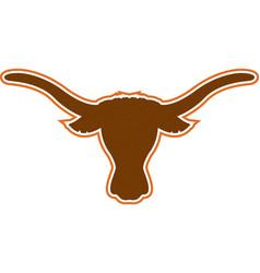 Longhorn logo mascot vector
