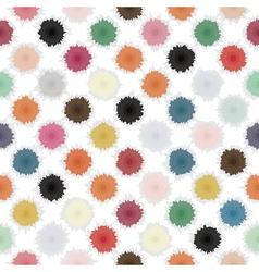 polka blot vector image