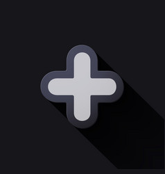 Volume icons symbol plus sign vector