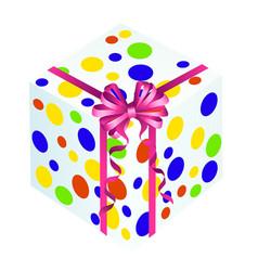 Gift box present vector