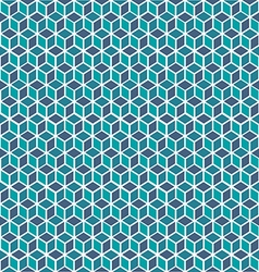 Mosaic 3D abstract background vector image vector image