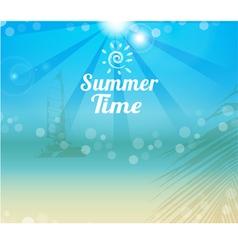 summer 2 vector image