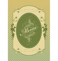 apple menu vector image vector image