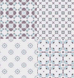 Pastel Patterns vector image