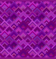 Purple abstract diagonal shape mosaic pattern vector