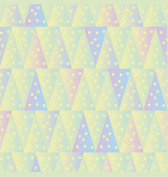 Seamless pattern with pastel dotted vector
