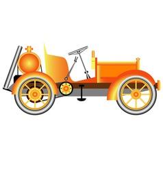 Vintage Motor Car vector image