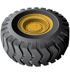 Engineering vehicles wheel vector