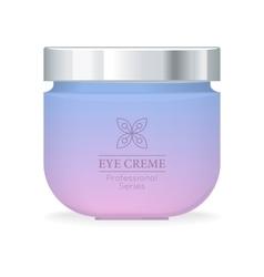 Eye Cream Professional Series vector image vector image