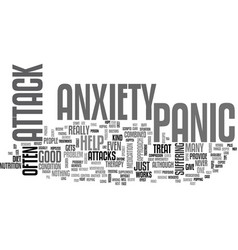 anxiety and nervouse breakdown tie in together vector image