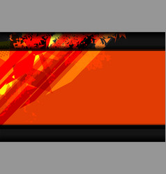 background orange texture vector image