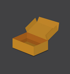 carton box delivery packaging vector image