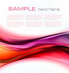 Colorful elegant abstract vector