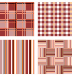 Design seamless pattern set vector image