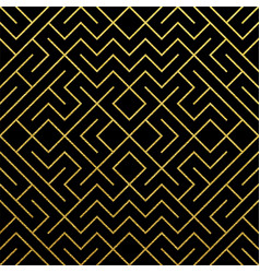 golden abstract geometric pattern background with vector image