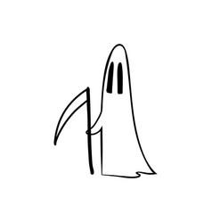 Halloween doodles poster-08 vector