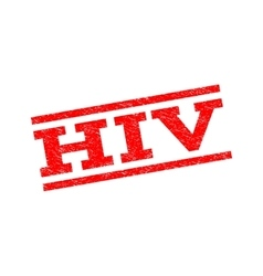HIV Watermark Stamp vector