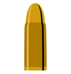 isolated bullet icon vector image