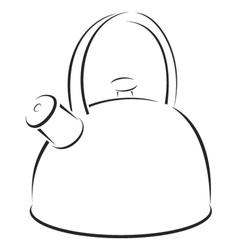 Kettle symbol vector