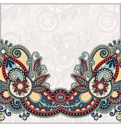 Ornamental floral pattern with place for your vector image
