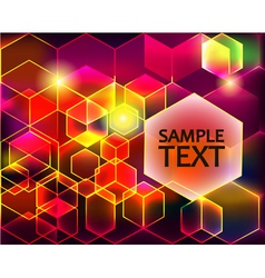 bright shiny background with transparent vector image