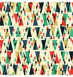 seamless geometric pattern on paper texture vector image vector image