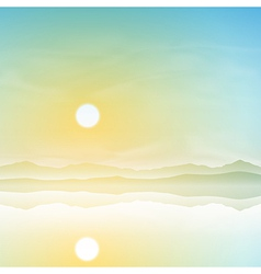 Simple Landscape vector image vector image
