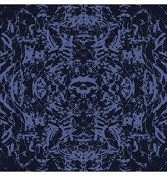 abstract skulls vector image