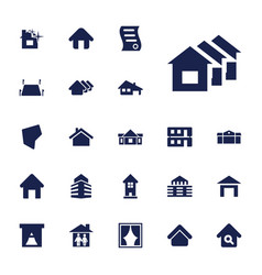 22 real icons vector