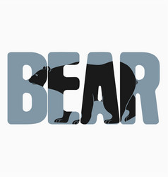 Bear on text vector