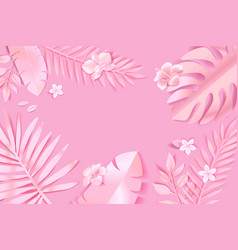 Beauty and nature background concept vector