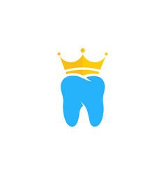 King dental logo icon design vector