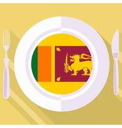 Kitchen of Sri Lanka vector