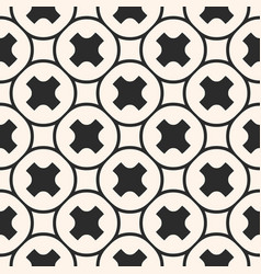 seamless pattern geometric texture smooth crosses vector image