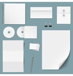 Set design corporate templates vector
