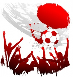 world cup japan vector image